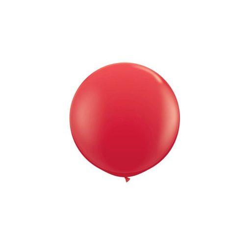 3 feet 91cm latex léggömb piros, standard red