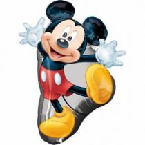 """Óriás fólia lufi 31"""", 78cm, Mickey, 2637301, héliummal töltve"""
