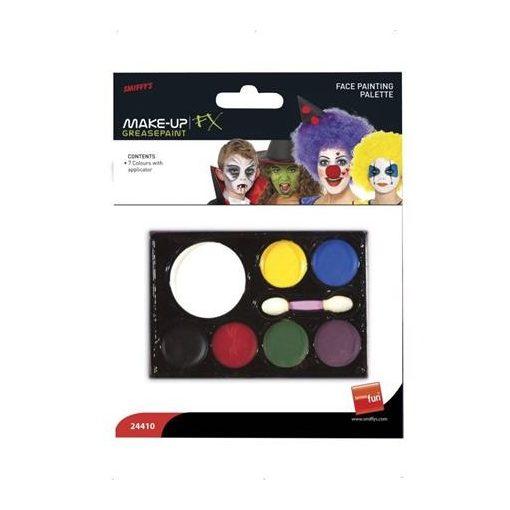 Arcfesték készlet 7 szín, arcfestő, 24410