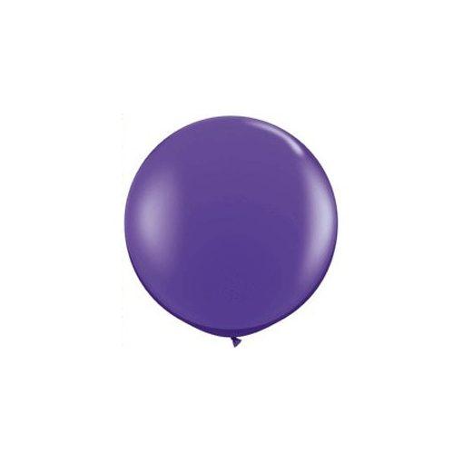3 feet 91cm óriás latex léggömb fashion lila lufi, fashion purple violet