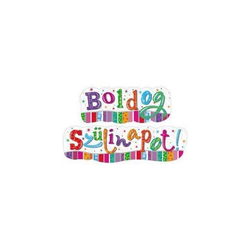 Boldog szülinapot! banner, Radiant, 148x27cm, 33589