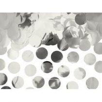 Konfetti fényes ezüst 15g, oKONS45-018