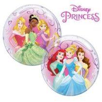 """Mintás Bubbles lufi 22"""" 56cm Héliummal töltve Disney Priness, 46725"""