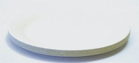 Papírtányér kerek 20db 18cm/23cm