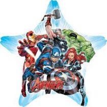 """Óriás fólia lufi 32"""" 81cm Avengers, Bosszúállók, 3465701, héliummal töltve"""