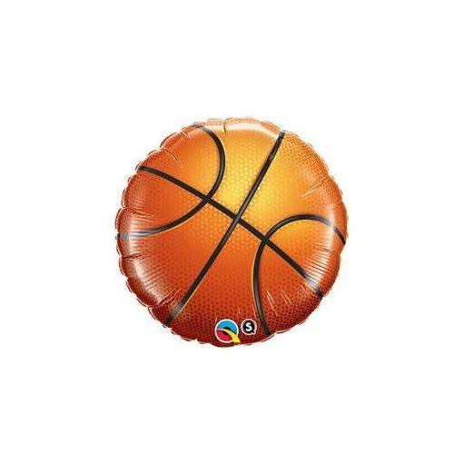 """Kosárlabda, basketball fólia lufi 18"""" 45cm, 21812, héliummal töltve"""