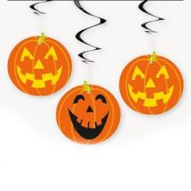 Függődekor tök 3db, Halloween 91180