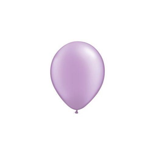 """QUALATEX 11"""" (28cm-es) Latex léggömb, pearl színek gyöngyház levendula lufi, pearl lavender"""