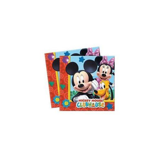 Szalvéta 33x33cm 20db Mickey, Minnie, 81510