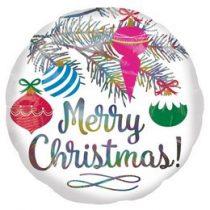 """Karácsonyi fólia lufi 18"""" 45cm Merry Christmas, n4009601"""
