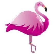 "Óriás fólia lufi 46""  117 cm flamingo, 57807, héliummal töltve"