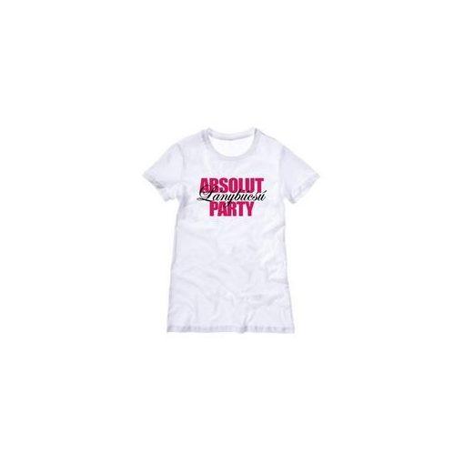Póló lánybúcsúra Absolut lánybúcsú party