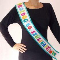 Vállszalag Boldog 60. Születésnapot, Jamboree, 35996