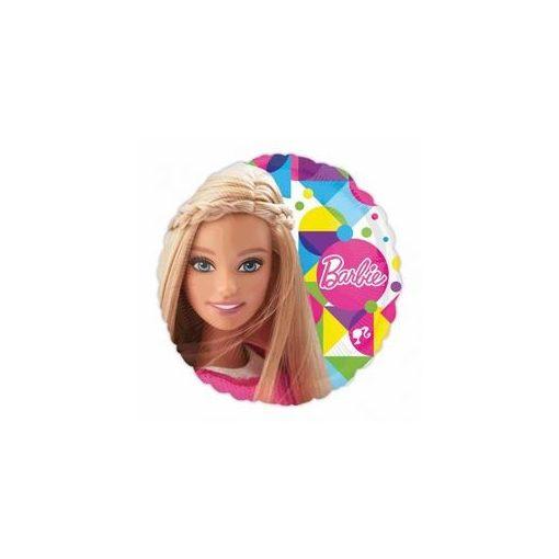 """Fólia lufi 17"""" 43cm Barbie, 3065301, héliummal töltve"""