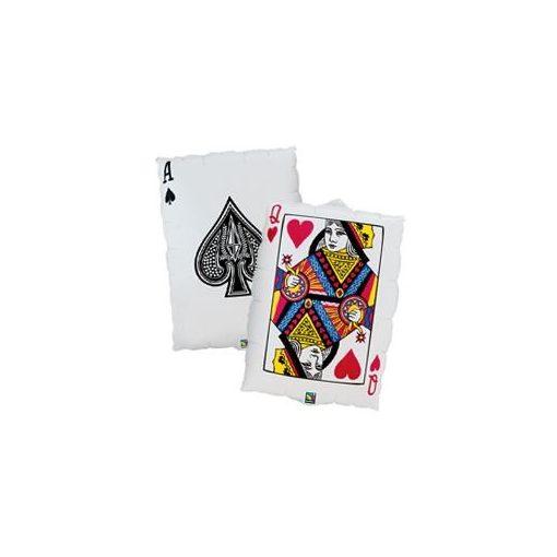 """Óriás fólia lufi 30""""  76cm kártya, 16310, héliummal töltve"""