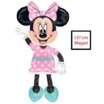 Sétáló lufi, airwalkers 54 inch 137 cm Minnie Mouse - Héliummal töltve