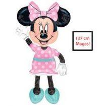 Óriás sétáló lufi, airwalkers 54 inch 137 cm Minnie Mouse n3433101